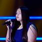 Melissa Anaya concursante de la Voz Kids de Caracol TV 2014, estudiante estrella de la Academia Margarita Campo Vives