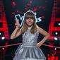 Giulianna concursante de la Voz Kids de Caracol TV 2014, estudiante estrella de la Academia Margarita Campo Vives